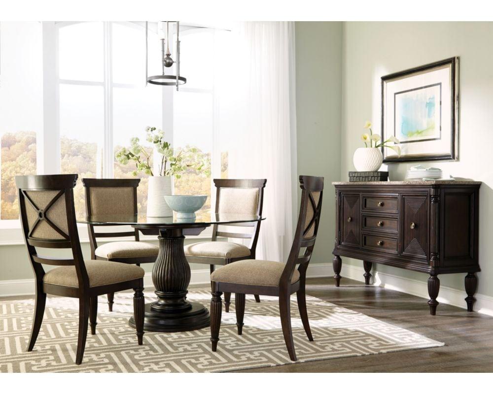 Broyhill dining jordan furniture for Broyhill dining room furniture