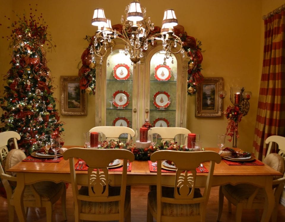 Dining Room for Christmas